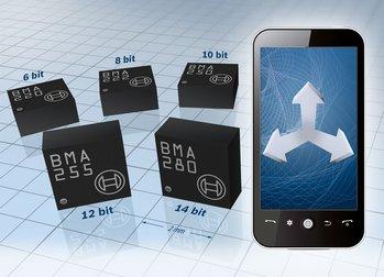 三轴MEMS加速度计:BMA280/BMA255