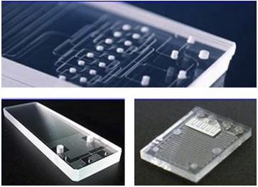 有机基底软质PDMS微流控芯片