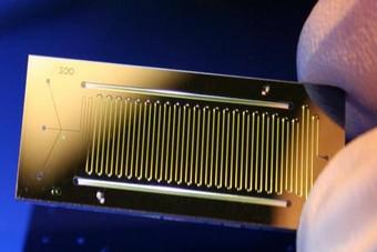 无机基底硅基基底微流控芯片