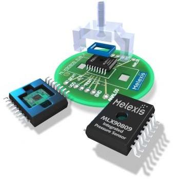 迈来芯推出汽车mems压力传感器mlx90809