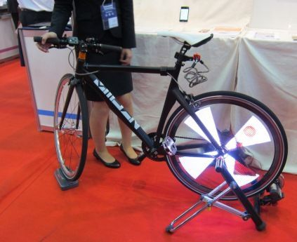 LED背光自行车
