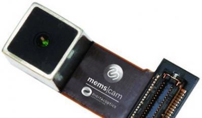 DigitalOptics公司推出MEMS自动对焦摄像头模块