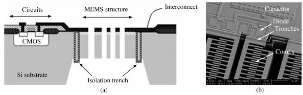 北京大学开发出的体硅单片集成技术