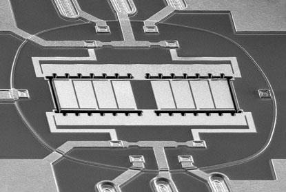 Sand 9叉指式压电谐振器是全球第一款MEMS时钟手机解决方案