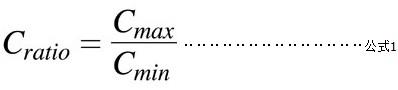 电容率(Cratio)公式