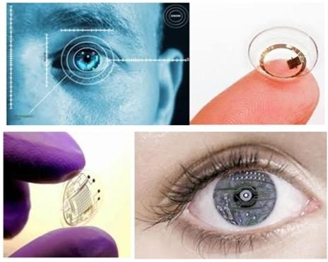 智能隐形眼镜