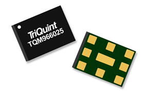 TriQuin LTE 分集接收滤波器