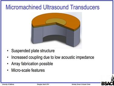 MEMS超声波传感器