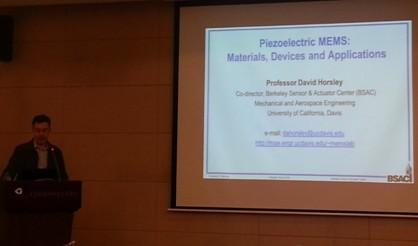 《压电MEMS:材料、器件和应用》学术报告
