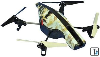 拆解配备gps的小型遥控飞机