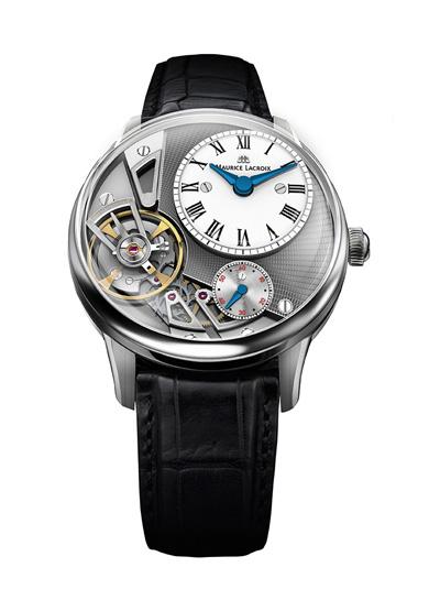 在2014年巴展上艾美表匠心系列引力腕表运用了最为尖端的硅基MEMS技术