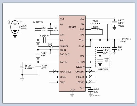 带光耦合器和分流调节器的反激式调节器框图