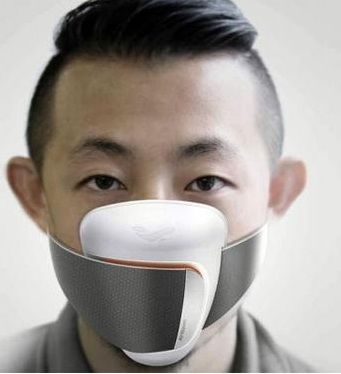 Frog Design开发了一款可搭配手机应用程式使用的智能口罩概念原型
