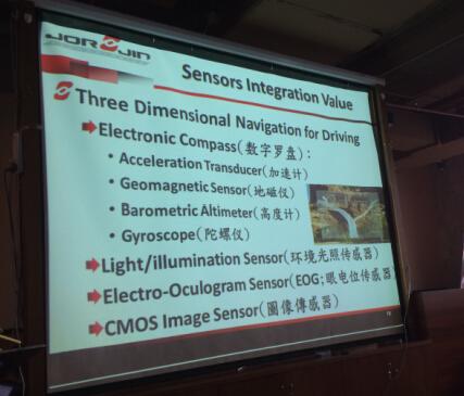 智能眼镜中的各种传感器