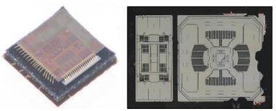 Fairchild六轴MEMS IMU:FIS1100拆解图