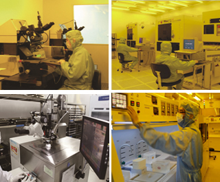 美泰科技的6英寸MEMS生产线