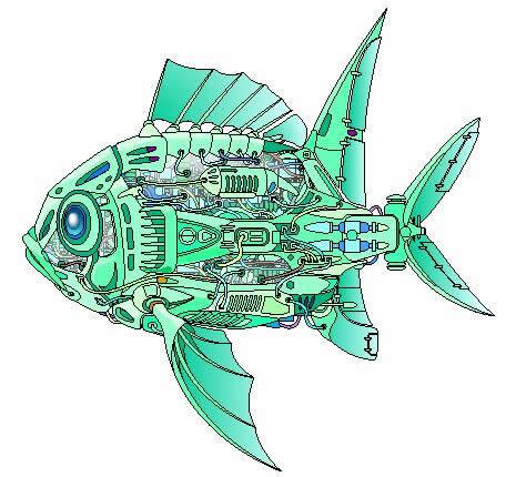 机器鱼结构