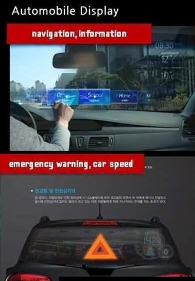 三星分享未来可整合于车内的增强现实概念