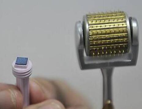 纳米微针与传统金属针对比