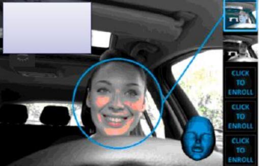 人脸识别图像,头部跟踪和身份识别系统