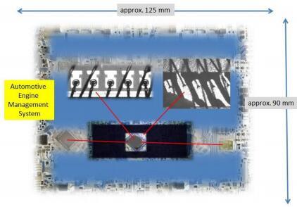 汽车发动机管理系统芯片检测