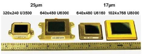 DRS非制冷红外焦平面探测器照片