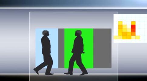 利用Grid-EYE红外传感器估算即时进入房间的人数