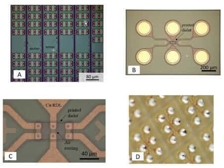 使用微转印技术制作晶圆级封装芯片