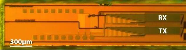 光学显微图象下的MIT固态Lidar