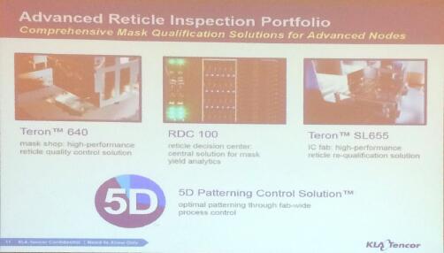 KLA-Tencor宣布推出新型光罩检测系统