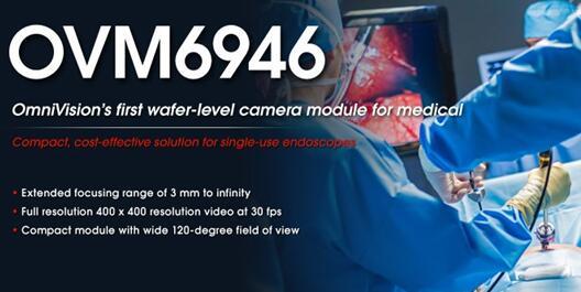 豪威科技推出首款應用於醫學領域的晶圓級攝像頭模組
