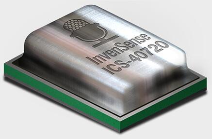 InvenSense的MEMS麥克風ICS-40730