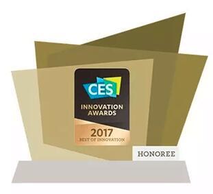 汇顶科技荣获2017年CES全球创新金奖,活体指纹检测识别方案引领生物识别科技创新