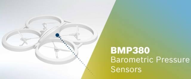 Bosch Sensortec在2017年CES上推出尺寸最小的高性能氣壓傳感器BMP380