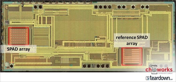 意法半导体ToF传感器VL53L0首度现身苹果iPhone 7手机
