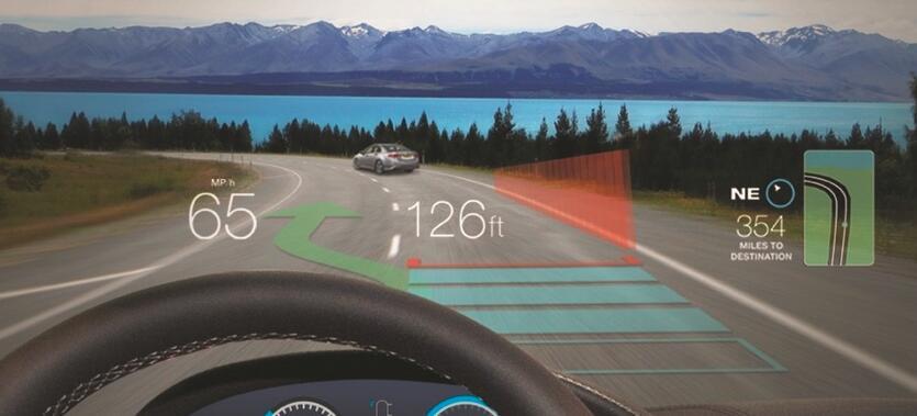 利用MEMS扫描镜技术提高汽车安全性