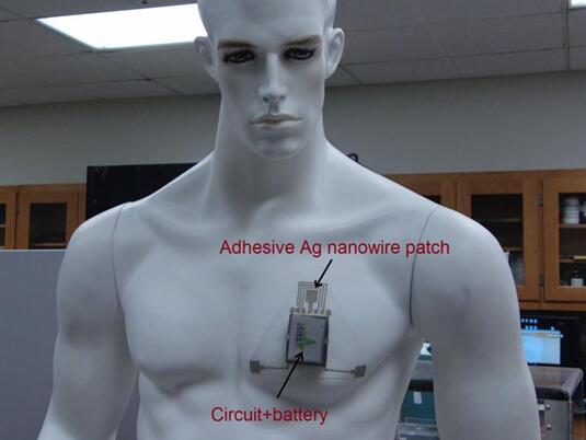 可測定皮膚含水量的低成本可穿戴傳感器