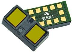 第三代激光测距传感器VL53L1
