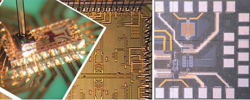 自供能集成芯片系统应用的微型能量收集器