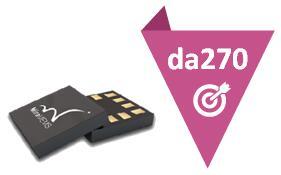 新一代高性能加速度传感器da270系列