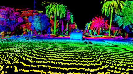 Luminar激光雷达成像效果