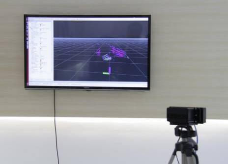 森萨塔-Quanergy联合推出的 S3固态激光雷达实时监测演示