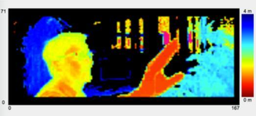 epc635 3D ToF深度成像效果图
