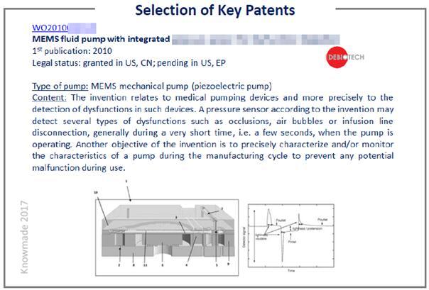 核心微泵专利精选