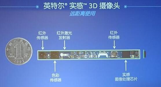 英特尔RealSense 3D摄像头(远距离使用)