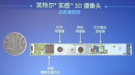 英特尔RealSense 3D摄像头(近距离使用)