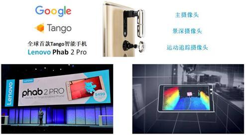 全球首款Tango智能手机——联想Phab 2 Pro的3D摄像头采用了水晶光电的窄带滤波片