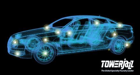 TowerJazz为快速增长的汽车模拟器件市场提供先进RF和高性能模拟解决方案
