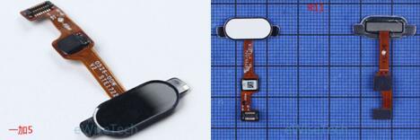 指纹识别和OPPO R11所使用的传感器相同,都为不可按压式指纹识别