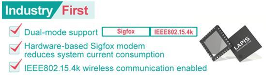 "ROHM旗下蓝碧石半导体开发出双模无线通信LSI""ML7404"""